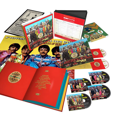 Sgt. Pepper's Lonely Hearts Club Band: the motherlode.