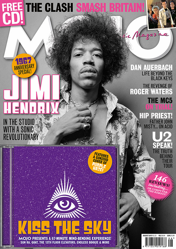 MOJO 285: more U2, lashings of Hendrix, and lots more inside.