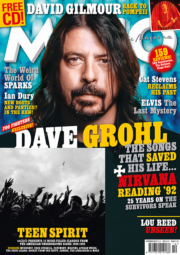 Dave Grohl on the cover of MOJO 287.