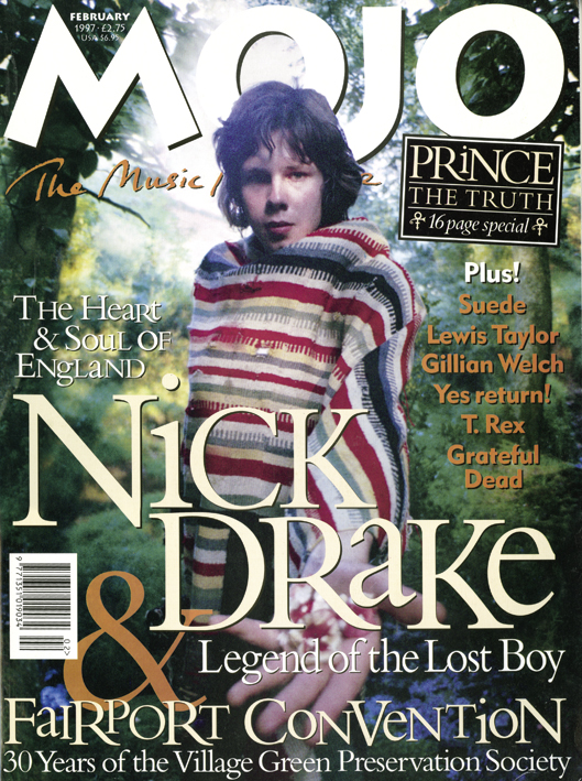 Drake in colour by Julian Lloyd – on the cover of MOJO 39.
