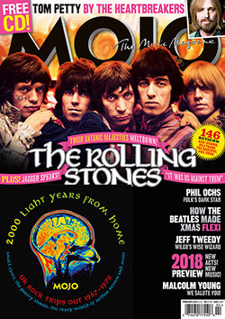 MOJO 291, with the Rolling Stones, UK Psych CD, Tom Petty, The Beatles, Phil Ochs and more.