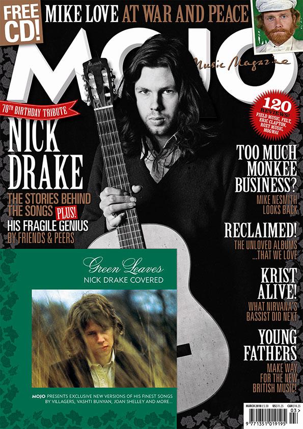 MOJO 292: Nick Drake, Mike Love and more.
