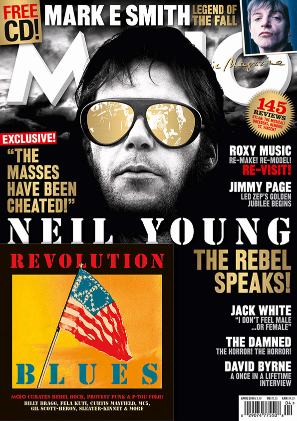 MOJO 293: Neil Young, special gold-blocked cover and more...