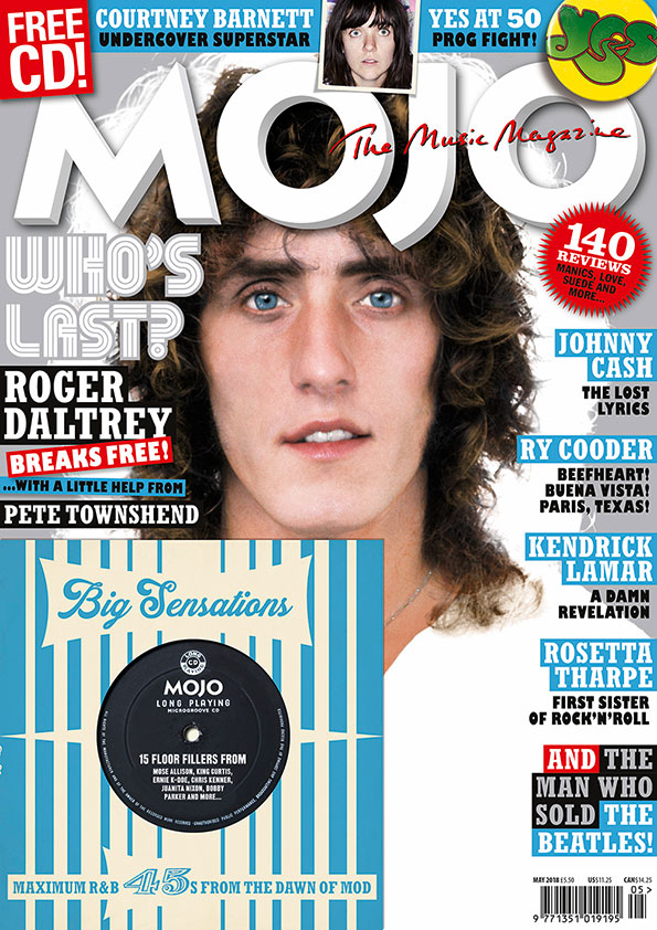 MOJO 294, starring The Who's Roger Daltrey.