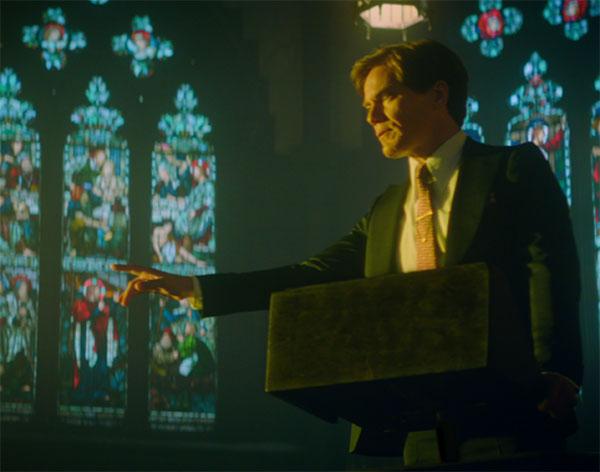 Michael Shannon as The Preacher – channeling Born Again Bob?