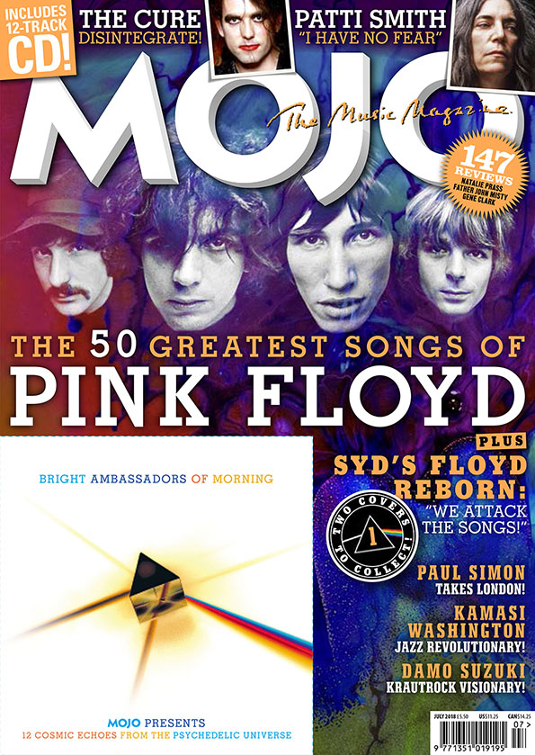 MOJO 296: Cover #1, featuring the Syd Barrett line-up of Pink Floyd