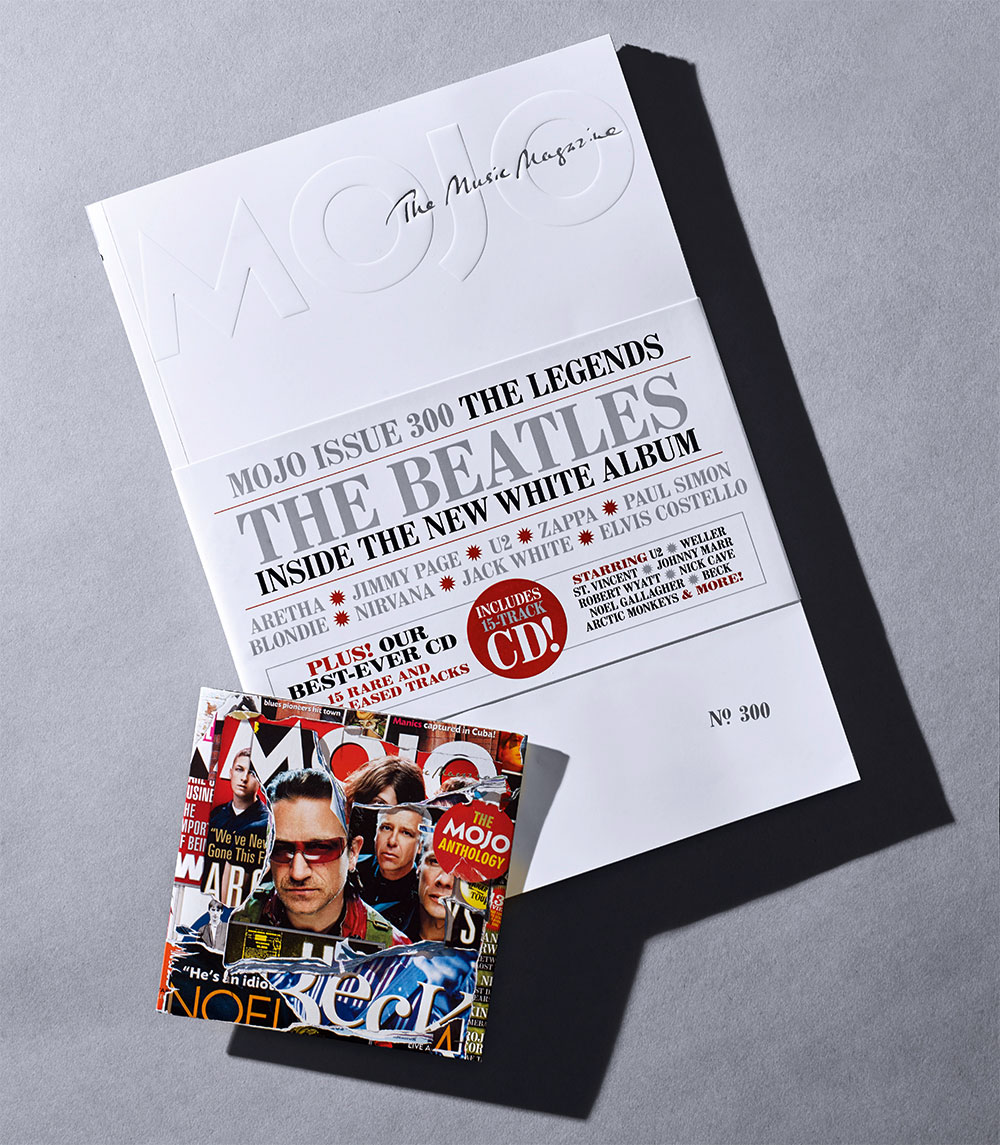 MOJO 300, plus The MOJO Anthology CD. Not just your usual music magazine.