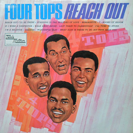 Four Tops' hit-packed 1967 album,  Reach Out .
