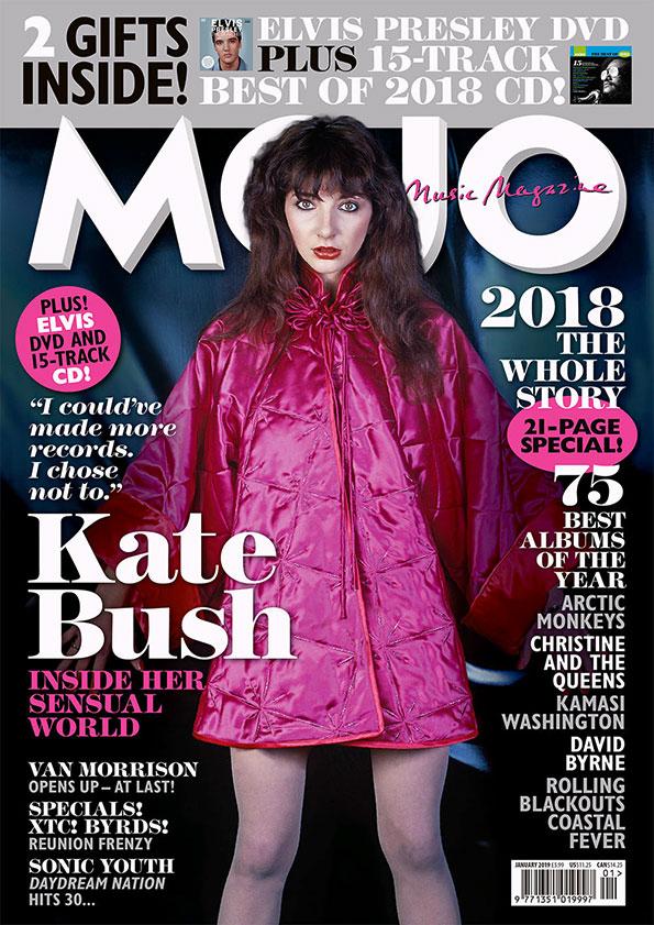MOJO 302 – January 2019: Kate Bush — Mojo