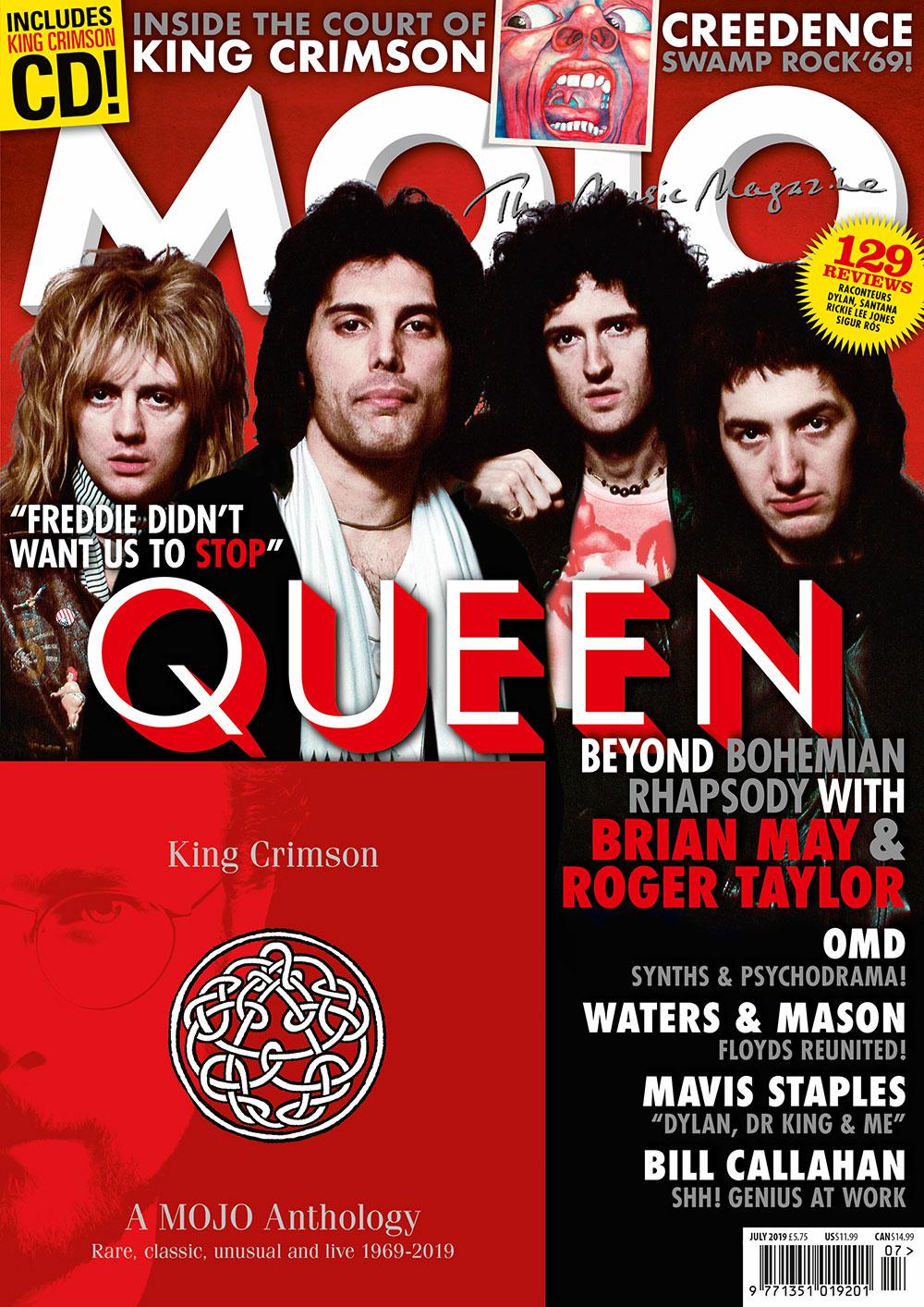 MOJO 308 – July 2019: Queen — Mojo