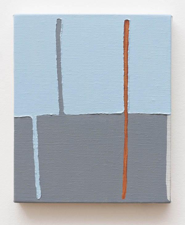 Paulo Monteiro Sem título, 2016 óleo sobre tela, 26 x 22 cm Untitled, 2016 oil on canvas, 10 1/4 x 8 11/16 inches