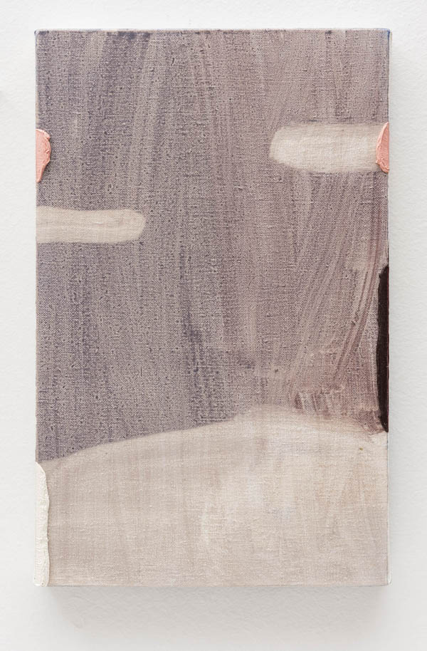 Paulo Monteiro   Sem título , 2011 óleo sobre tela, 35 x 22 cm   Untitled , 2011 oil on canvas, 13 3/4 x 8 11/16 inches