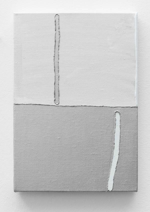 Paulo Monteiro   Sem título , 2016 óleo sobre tela, 32 x 22 cm   Untitled , 2016 oil on canvas, 12 5/8 x 8 11/16 inches