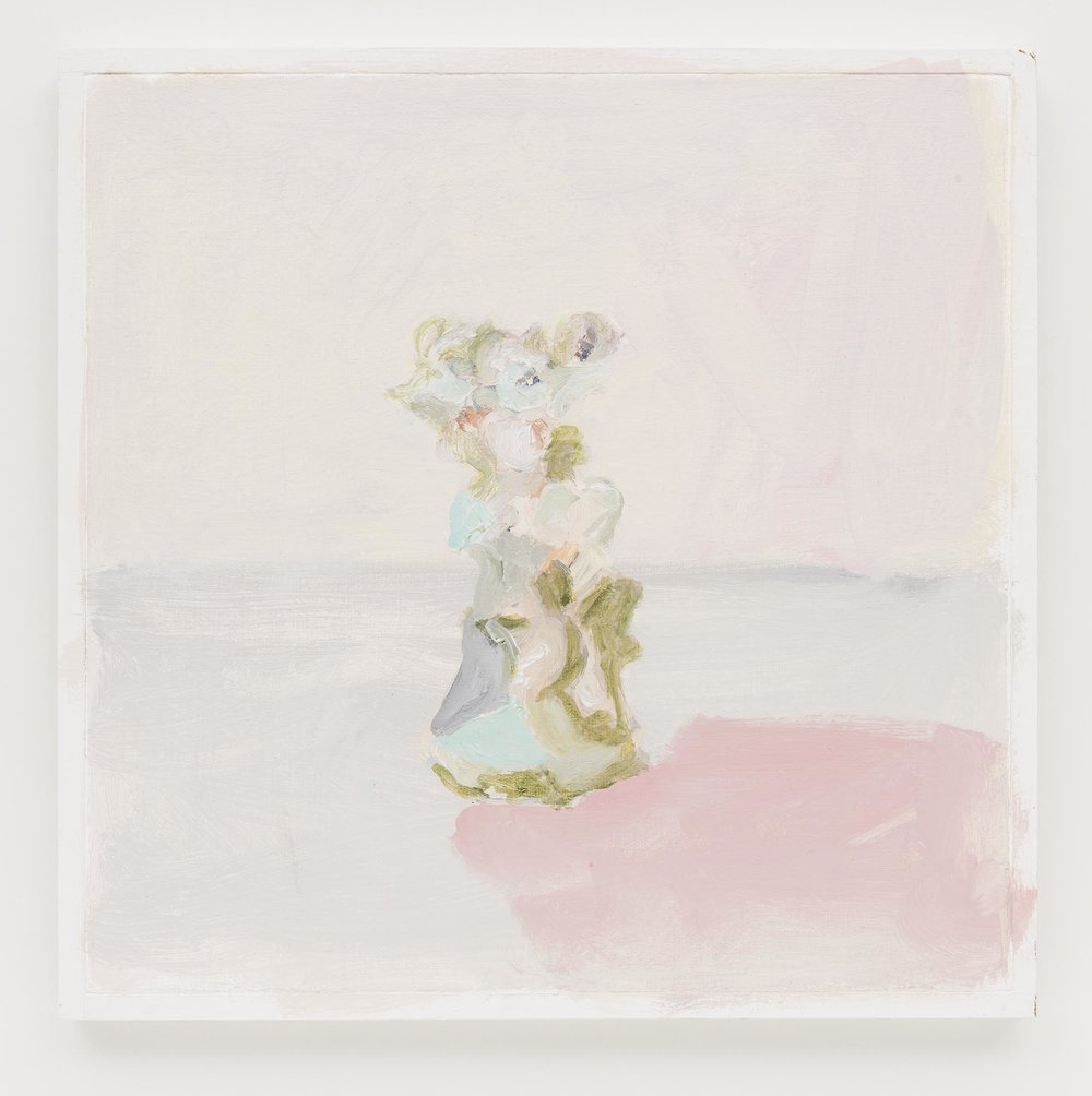 Gabriela Machado,  Pequenas Porcelanas | Small China,  2013, óleo sobre linho |  oil on linen , 30 x 30 cm