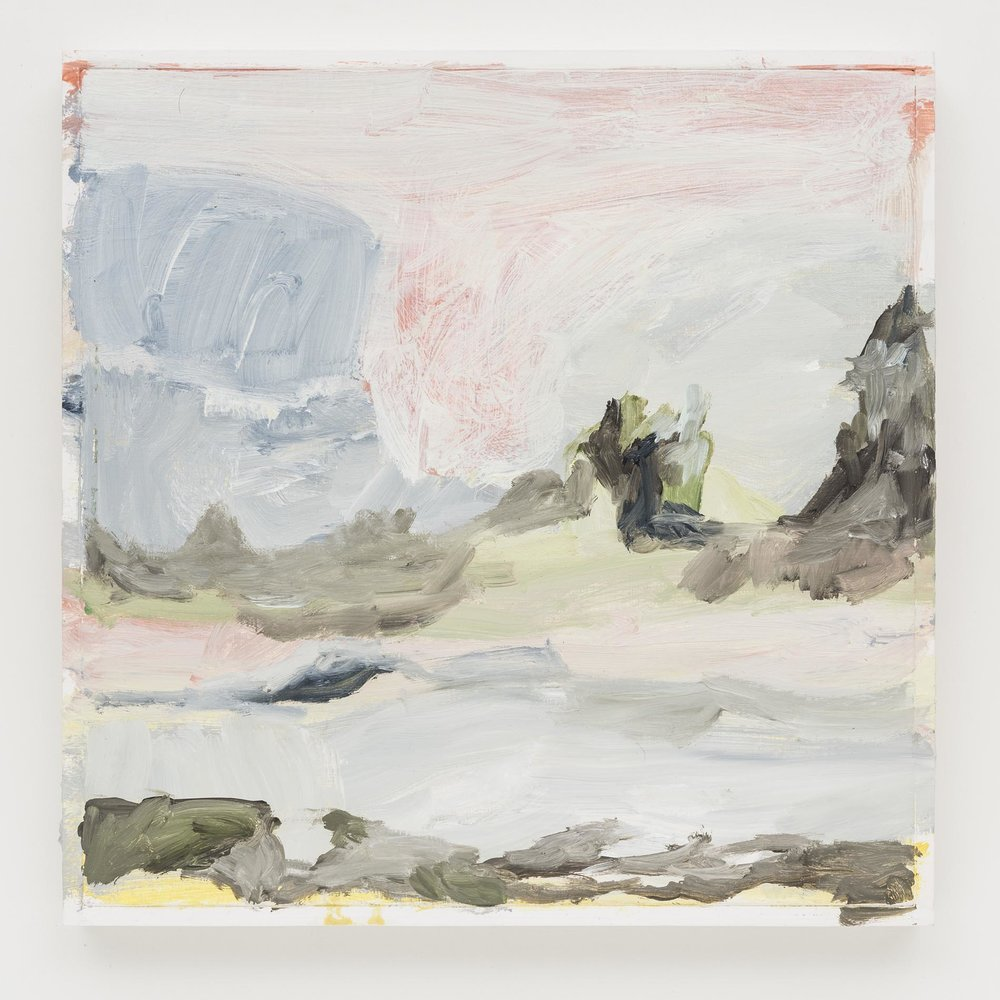 Gabriela Machado, Sem título |Untitled , 2013, óleo sobre linho | oil on linen ,30 x 30 cm