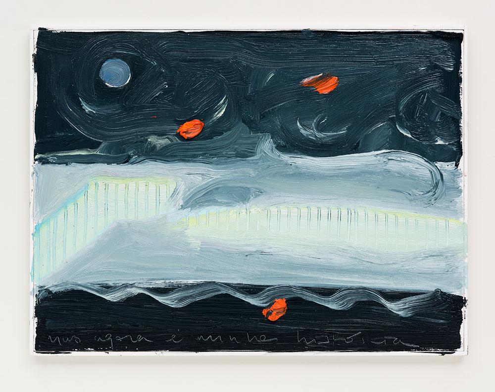 Gabriela Machado,Mas agora é minha história , 2017, óleo sobre linho |oil on linen, 30 x 40 cm
