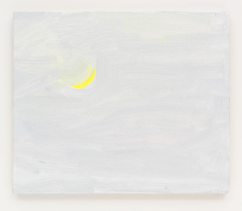 Gabriela Machado, Luas |Moons , 2017, óleo sobre linho | oil on linen , 20 x 30 cm