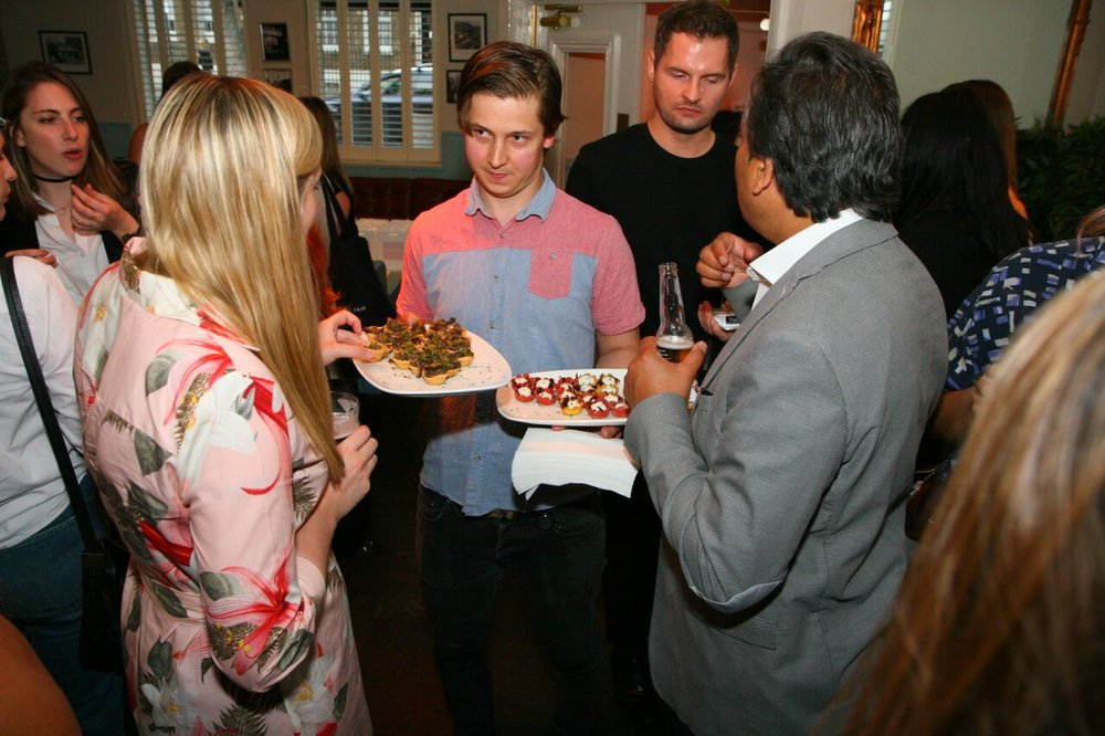 Rue Belle Launch Canapes