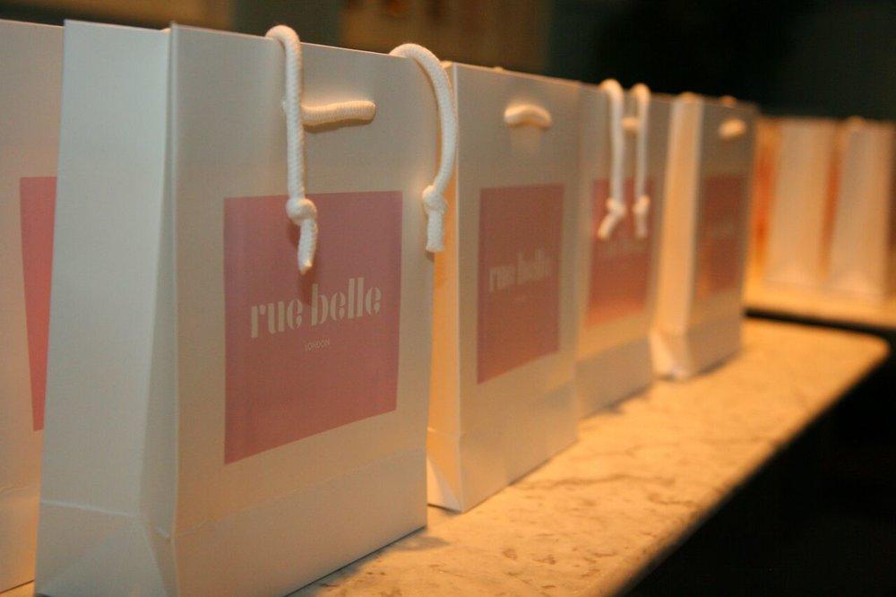Rue Belle goodie bags