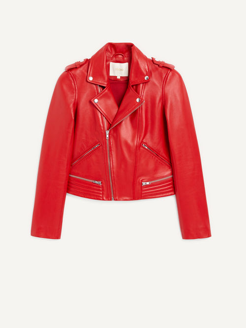 Maje Leather Jacket £420.00