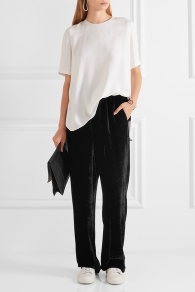 Stella McCartney velvet trousers .jpg