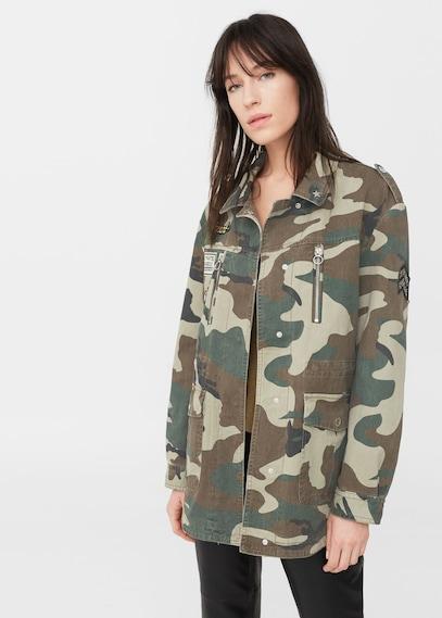 Military Jacket - £59.99 - Mango