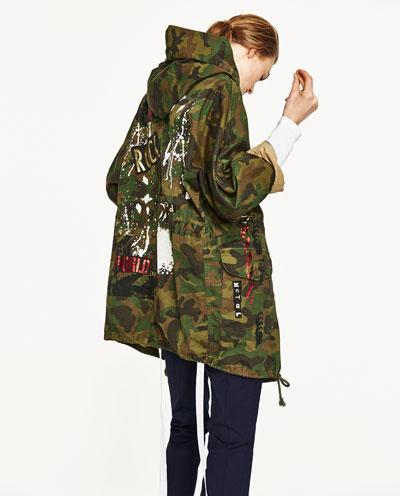 Motif Military - £79.99 - Zara