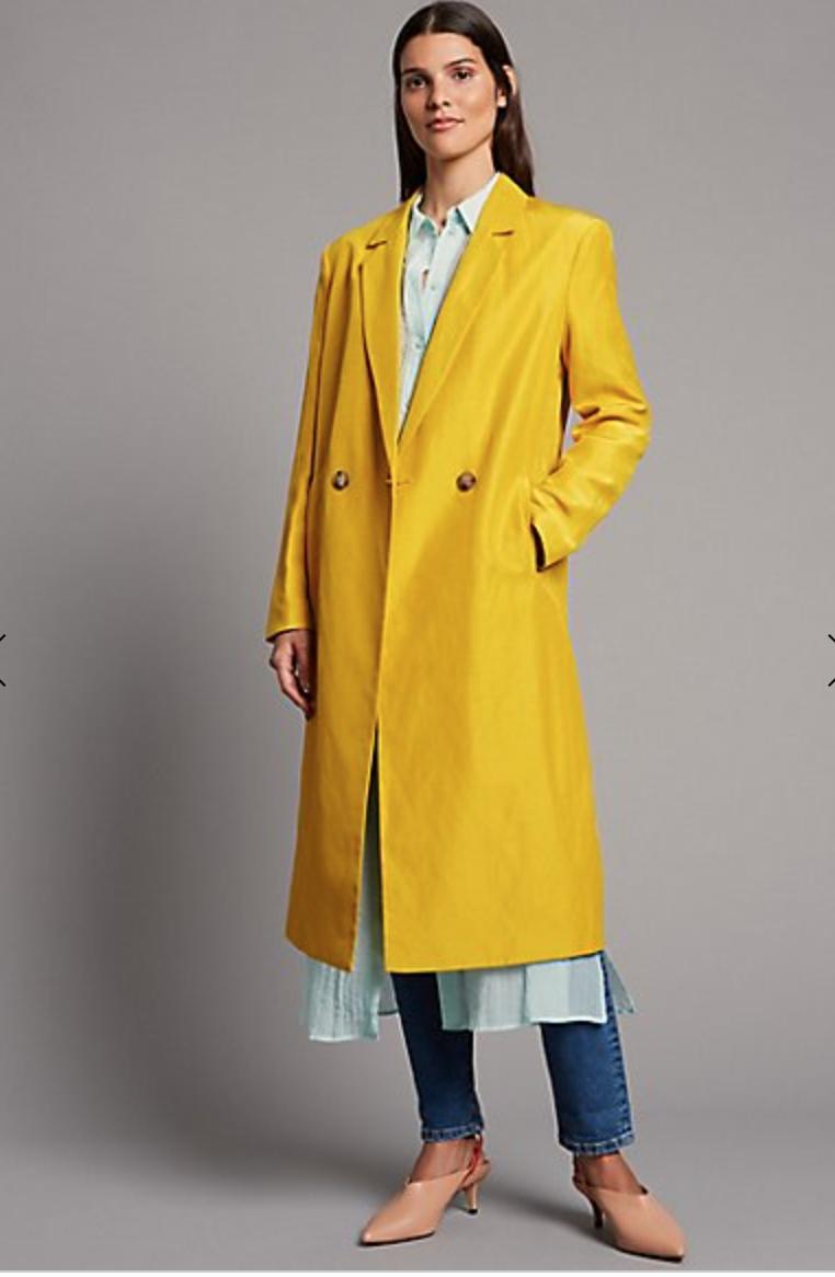 MARKS AND SPENCER - Linen Coat £99