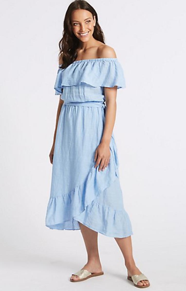MARKS AND SPENCER - Pastel Dress £45.00