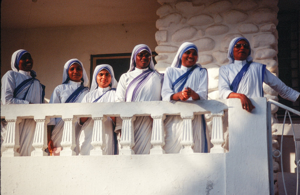 The Sisters of the Missionaries of Charity. Jacmel, Haiti.