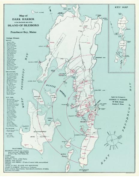 - Reproductions of the ca. 1925 Islesboro Land & Improvement Company's