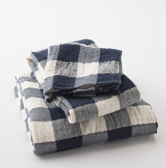 Vintage Check Towels