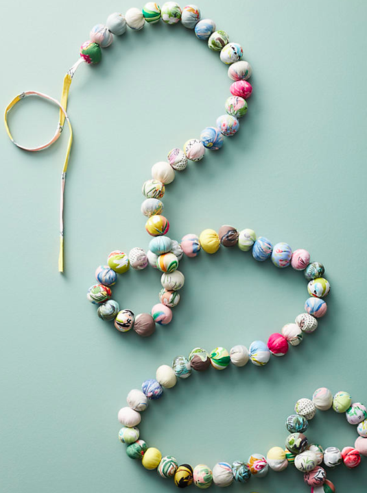 Anthropologie Florasphere Garland