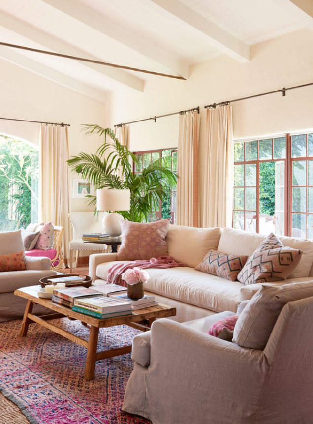 Home Again interior set photo via  Architectural Digest
