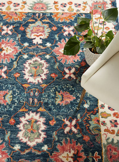 Anthropologie Tufted Bettina Rug