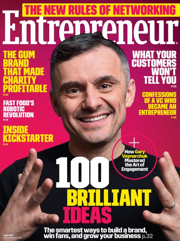 Fishbird Makes #5 in the 100 Brilliant Ideas Issue    Entrepreneur