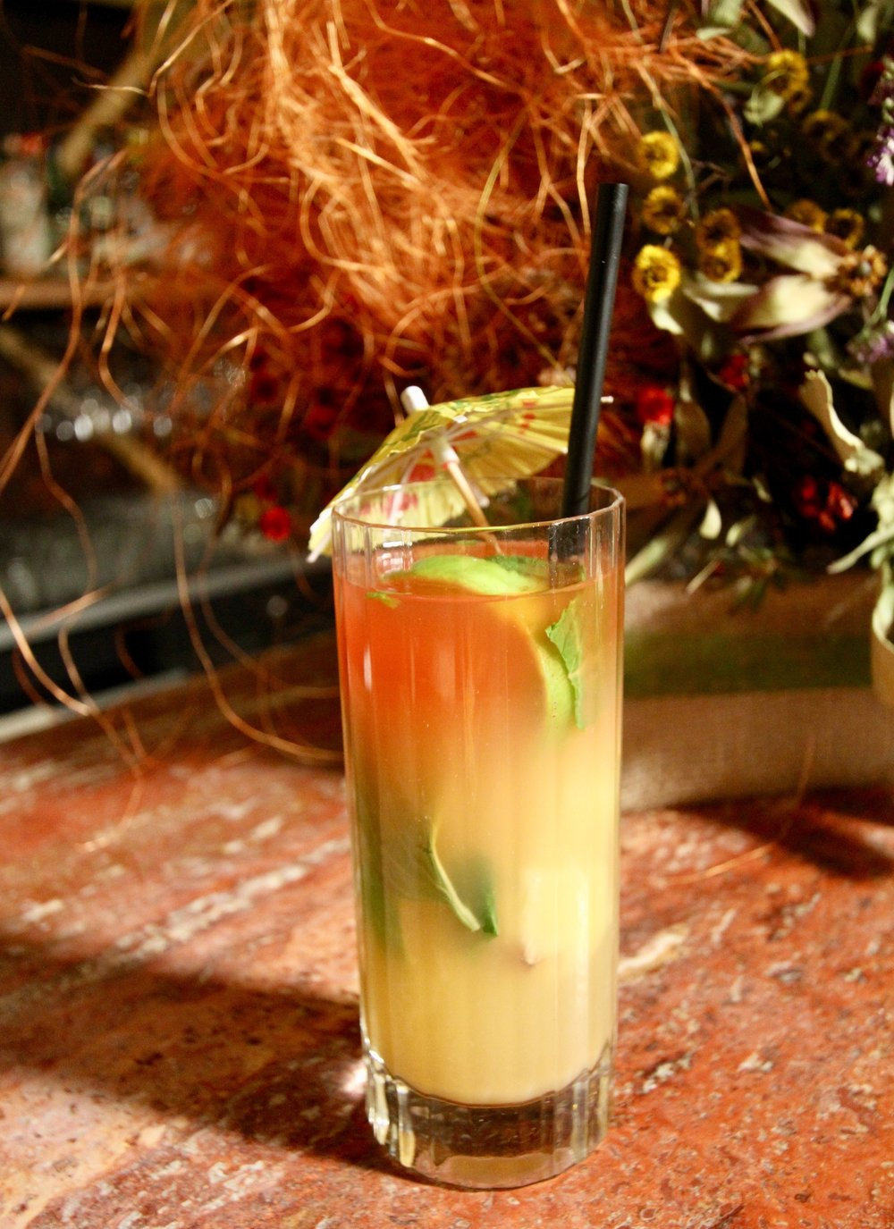 PINEAPPLE, GINGER & CHILLI MOCKTAIL
