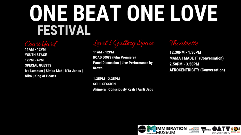 One Beat One Love Program