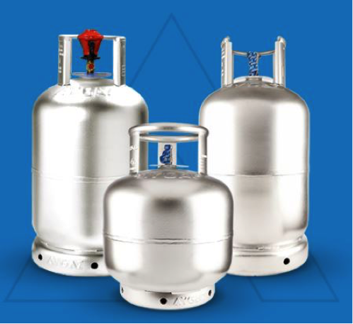 LPG Cylinders produced by Aygaz
