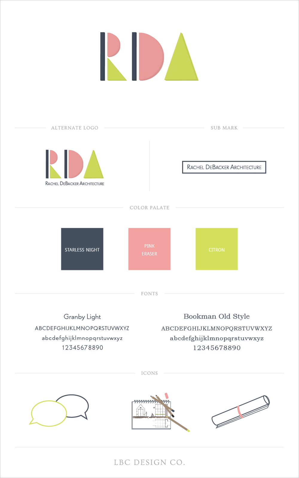 Rachel DeBacker Architecture-Style Guide