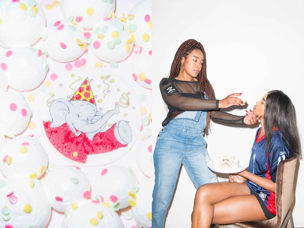 Tracy & Cyntia x Party Cake