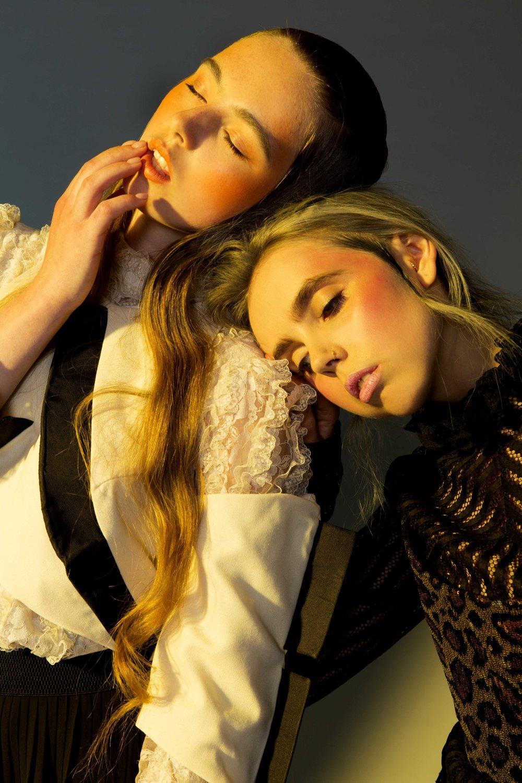 Erika Janavi & Wiktoria Salajczyk by Chiara Ceci Glynn