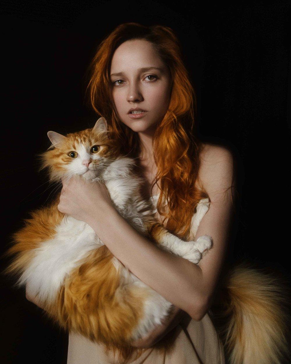 Alexia Iordanova by Tatiana Mertsalova