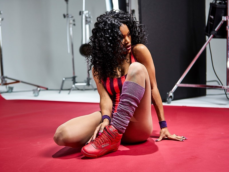 Courtesy of Reebok - Teyana Taylor Behind The Scenes