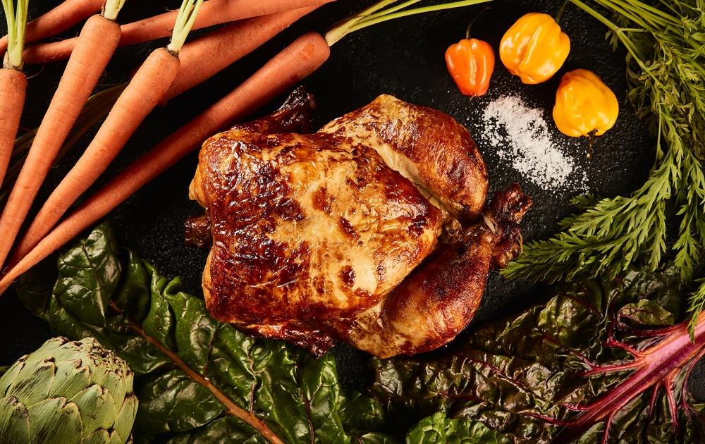Rotiserrie Chicken | Hu Kitchen