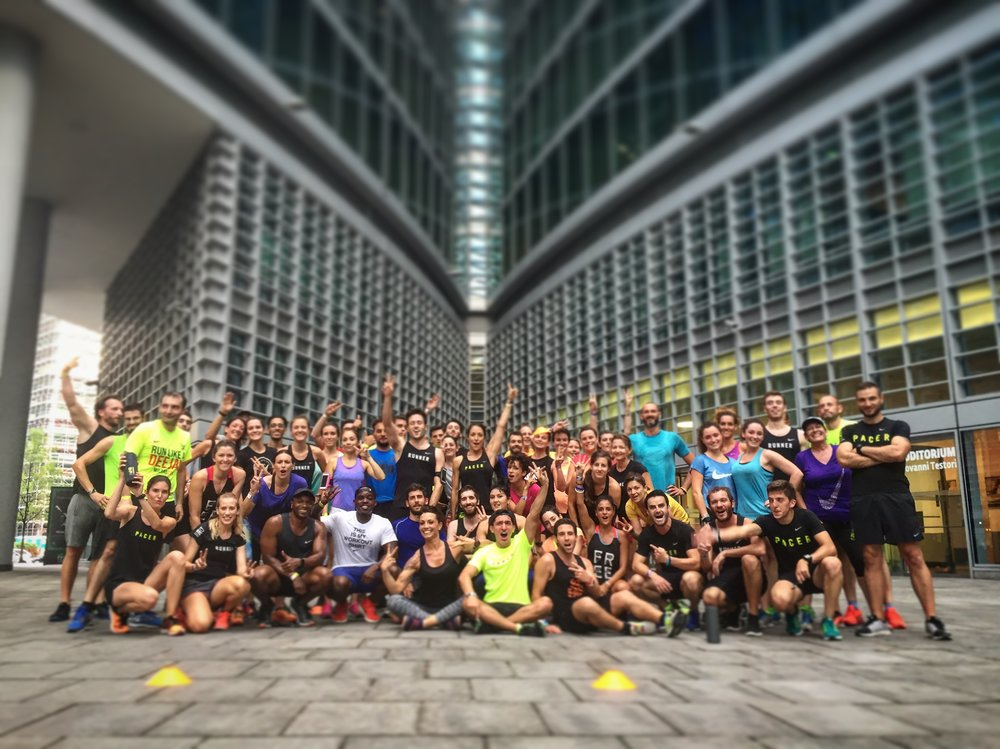 Running with the Nike Run Club Milan - July 2016 | Milan, Italy