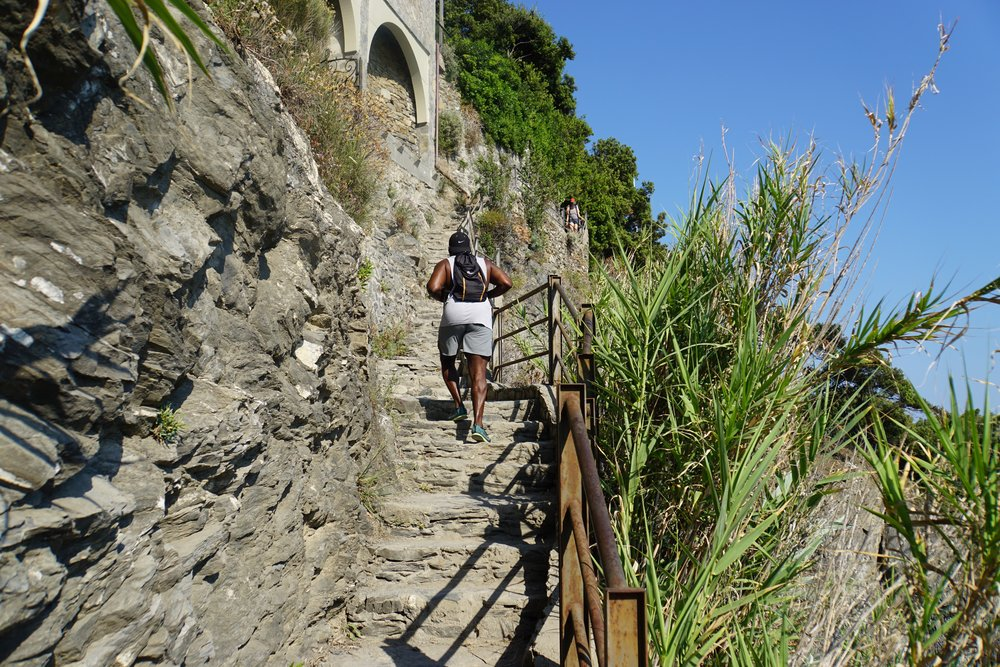 2 hour hike to the next village in Cinque Terre, Italy | Jackson Jackson