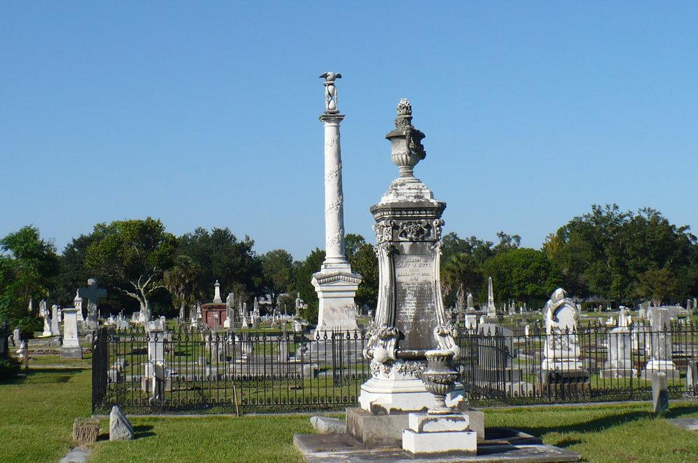 Magnolia Cemetery, 1836