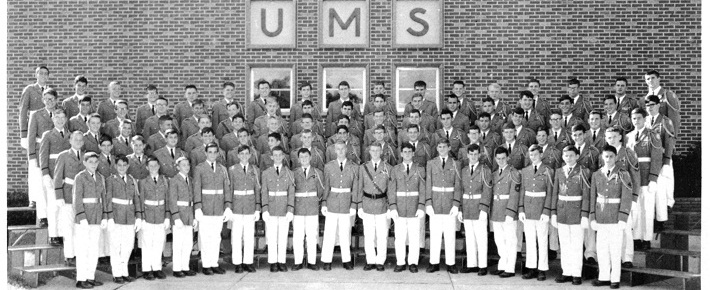 Young UMS cadets