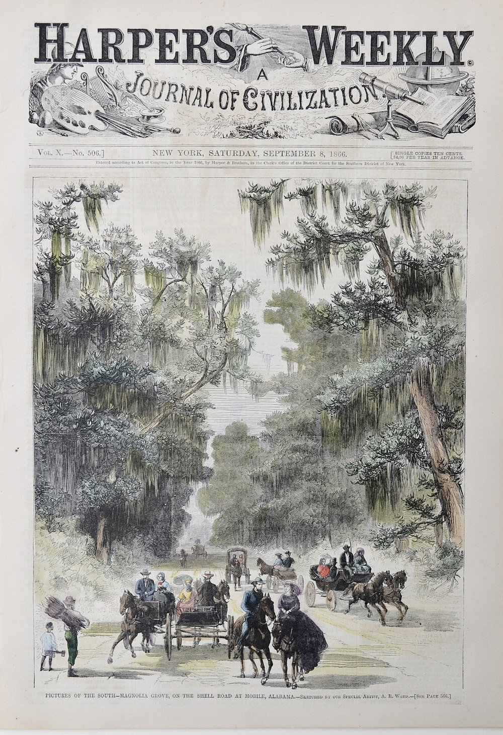 Harper's Weekly, Saturday September 8, 1866